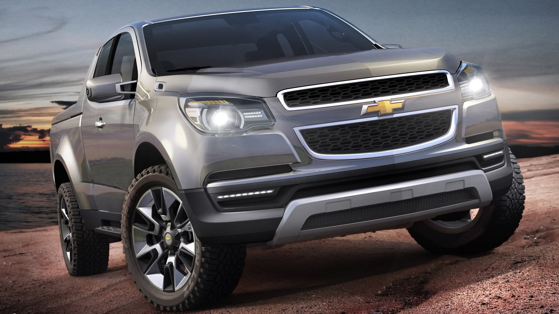 upcoming chevy colorado pickup truck will directly target the toyota ...