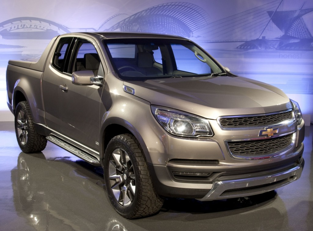 Chevy Colorado Concept Pickup Truck